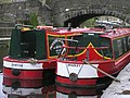 Narrow boats, Skipton Canal (1) - geograph.org.uk - 869653.jpg