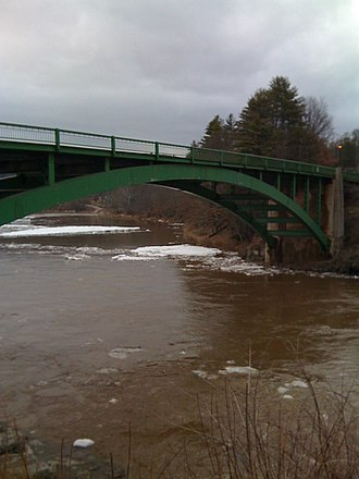 New York State Route 52 - Image: Narrowsburg Darbytown Bridge