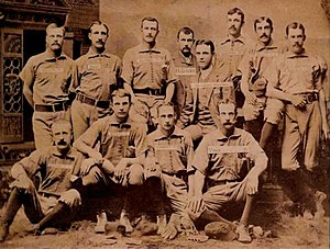 Nashville Americans - The 1885 Nashville Americans