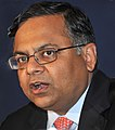 Natarajan Chandrasekaran at WEF, 2011.jpg