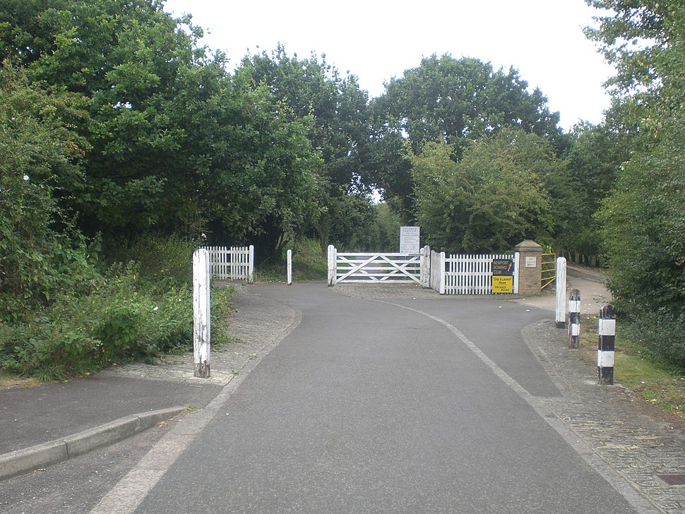 National Cycle Route 23 at Newport industrial estate