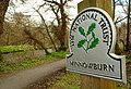 National Trust sign near Minnowburn - geograph.org.uk - 757136.jpg