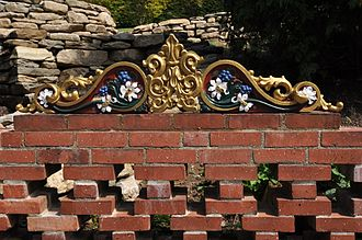 Naumkeag - A garden wall.