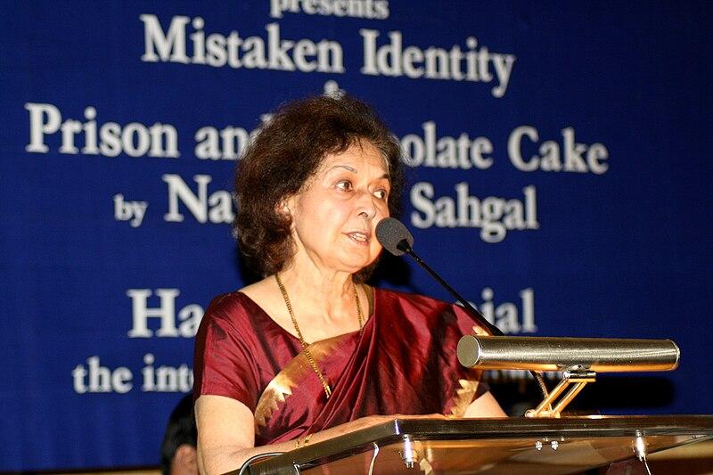 File:Nayantara Sahgal.JPG