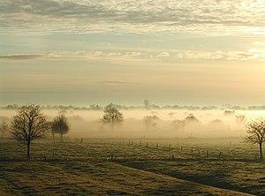 East Frisia - Image: Nebelostfriesland