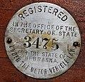 Nebraska 1908 license plate disc 1.jpg