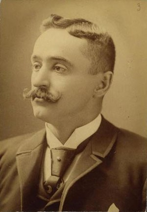 Ned Hanlon (baseball) - Tomlinson Studio portrait of Hanlon, c. 1887