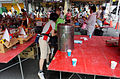Neighbors Drinking Cold Tea in Rest Time of Ghost Festival 20150822.jpg