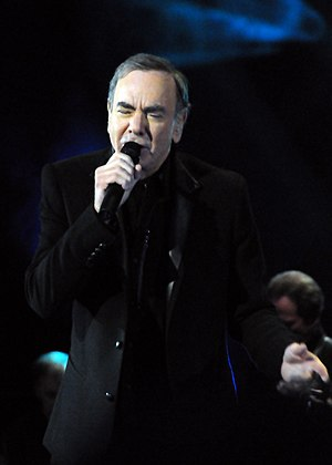 Neil Diamond - Diamond performing at The Roundhouse, London on October 30, 2010.