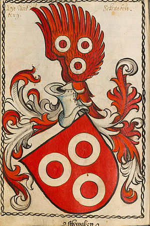 Adam Albert von Neipperg - Neipperg family coat of arms