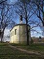 Neratovice, kostel svatého Vojtěcha, z východní strany.jpg