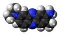 Neutral red molecule spacefill.png