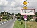 Neuviller-sur-Moselle, (M-et-M) city limit sign.jpg