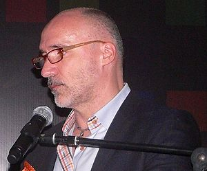 Neville Page - Page at the 2014 Comic Con Experience in São Paulo, Brazil.