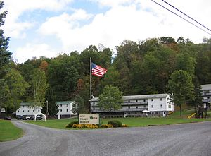 Piatt Township, Lycoming County, Pennsylvania - New Tribes Mission Camp along Larrys Creek in Piatt Township