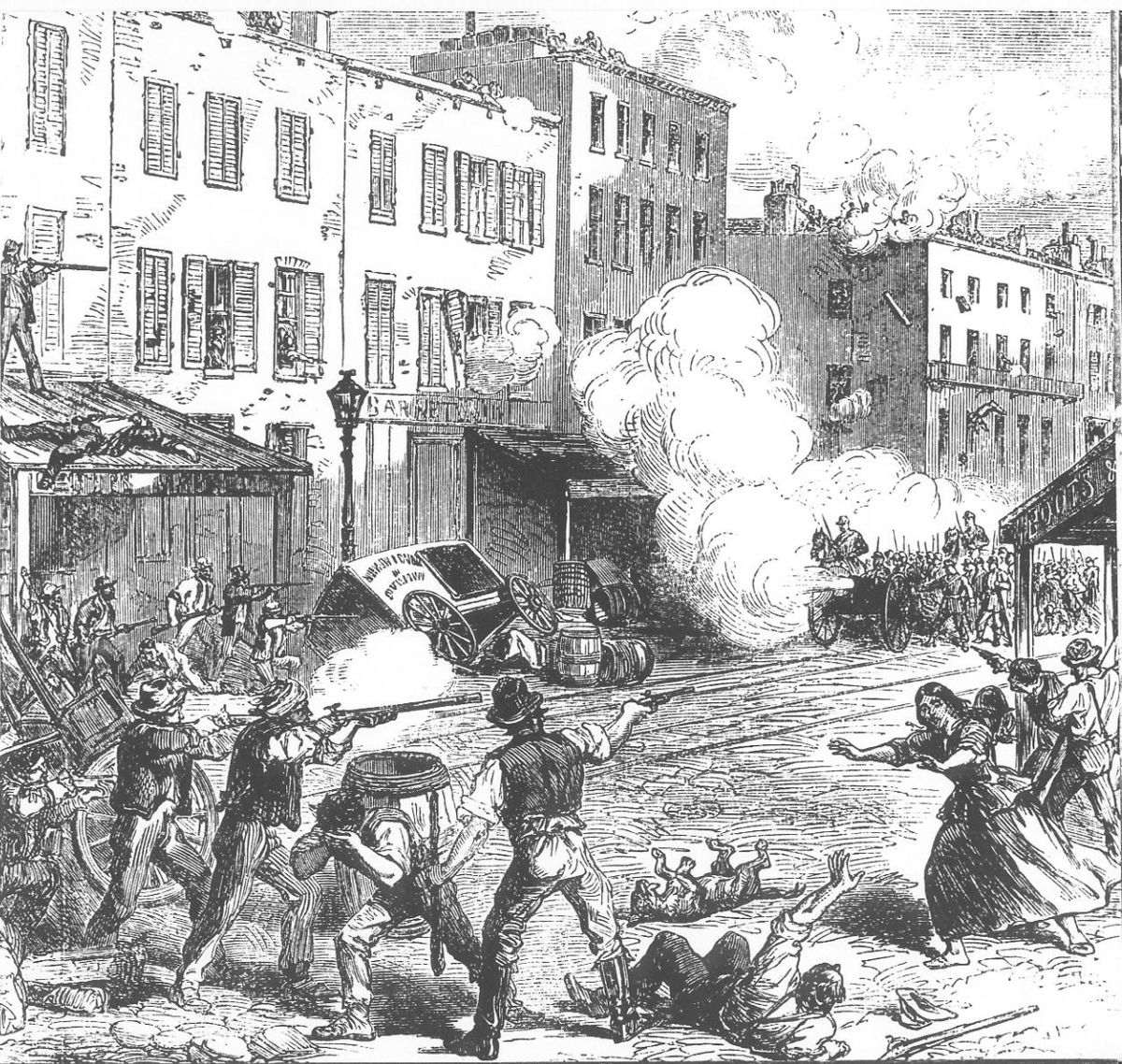 New York City draft riots - Wikipedia