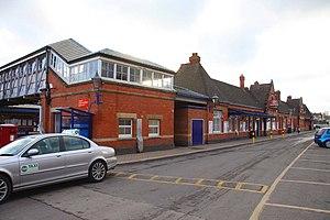Newbury railway station - The main station building
