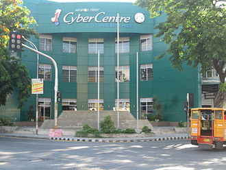Business process outsourcing in the Philippines - Negros First CyberCentre IT and BPO Hub in Bacolod, Philippines.