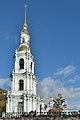 Nicholas Naval Cathedral belfry Saint Petersburg 2.jpg