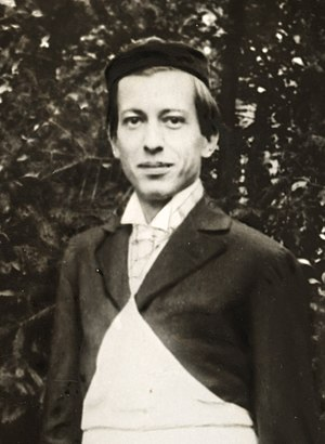 Nicolae Paulescu - Nicolae Paulescu in Paris in 1897