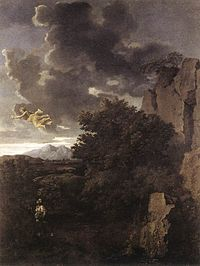 Nicolas Poussin - Hagar and the Angel - WGA18339.jpg