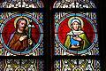 Niederwaldkirchen Blasiuskapelle - Fenster 2a Joseph und Anna.jpg