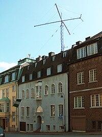 Nigerian Embassy Stockholm.   JPG