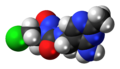 Nimustine 3D spacefill.png