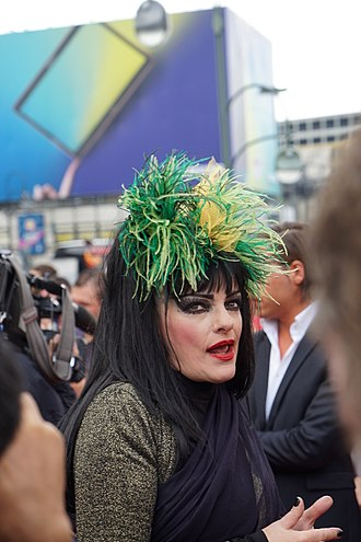 Nina Hagen - Hagen at the premiere of The Seventh Dwarf, September 2014