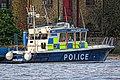 Nina Mackay II police boat at Wapping Police Pier 01.jpg