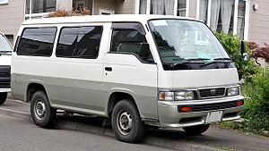 Compact van - Image: Nissan Caravan E24 003