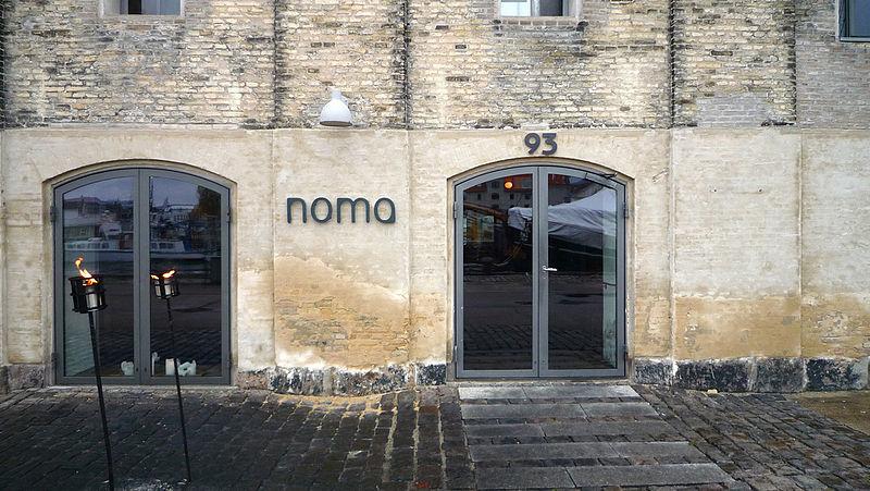 Fachada del Restaurante Norma