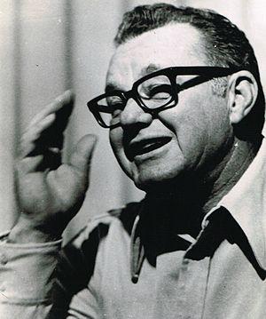 Norm Van Brocklin - Van Brocklin in 1974