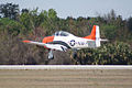 North American T-28B Trojan Navy N63NA Landing 06 TICO 13March2010 (14619425173).jpg
