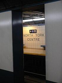 North York Centre TTC DWA in gap.JPG