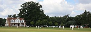 Somerset Cricket Board - Image: North perrott cricket club ground