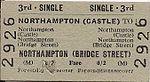 Northampton Castle ticket (1957).jpg