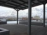 Northeast across the Utah Valley Convention Center terrace, Jan 16.jpg