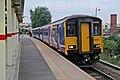 Northern Rail Class 150, 150201, Ashton-under-Lyne railway station (geograph 4005920).jpg