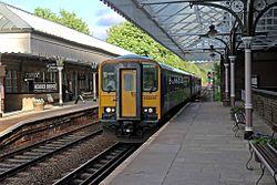 Northern Rail Class 153, 153316, Hebden Bridge railway station (geograph 4500357).jpg