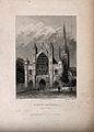 Norwich Cathedral, Norwich, Norfolk. Etching by B. Winkles, Wellcome V0014042EL.jpg