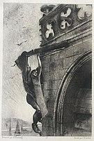 Notre-Dame de Paris - mort de Claude Frollo - François Flameng.jpg