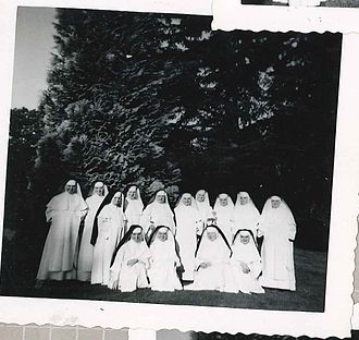 Marymount Military Academy - A historic picture of Dominican nuns taken at Marymount in Tacoma, WA.