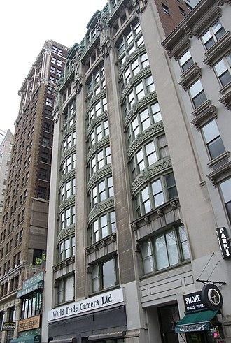 Robert D. Kohn - Old New York Evening Post Building, 1907