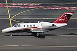 OE-FLG Cessna 525 CitationJet CJ1 Smartline Luftfahrt DUS 2018-09-01 (6a) (44968871174).jpg