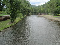 Oconaluftee River in Swain Co., NC IMG 4884