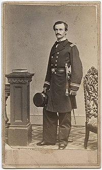 A Carte De Visite Of US Navy Lieutenant During The Civil War Era