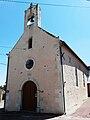 Oiron (Noizé) église bourg 2.JPG