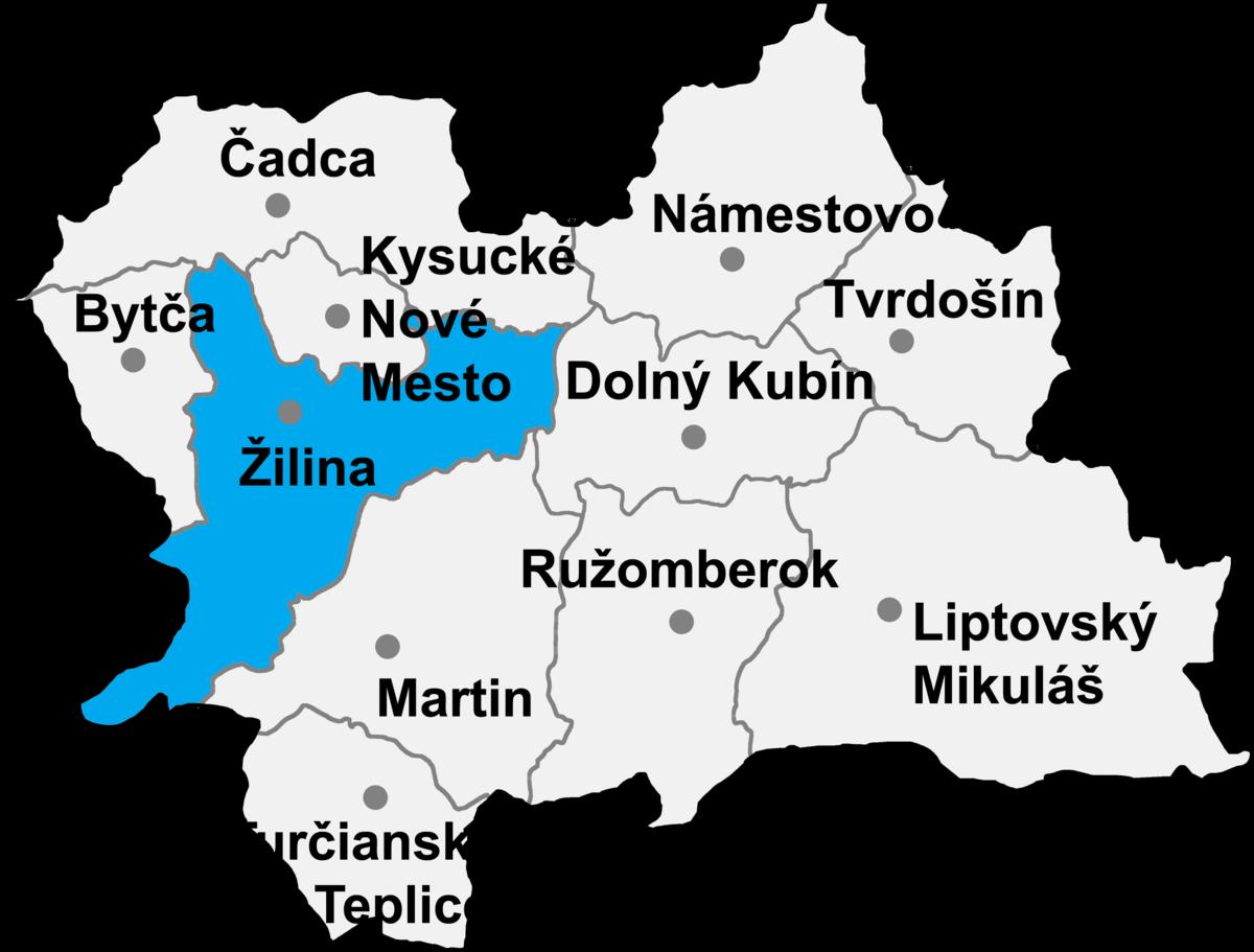 Žilina District - Wikipedia 408e512db48