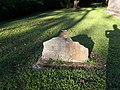 Old, broken grave marker, Westover Church.jpg